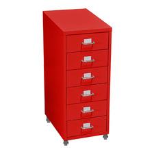 Morigan Metal 6 Drawer Filing Cabinet