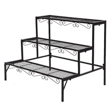 Mara 3 Tier Steel Pot Plant Stand