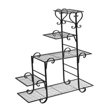 Mara 5 Tier Steel Pot Plant Stand
