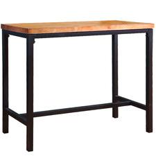 Kayley Industrial Wooden Bar Table