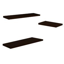 3 Piece Geraldine Wooden Floating Shelf Set