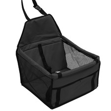 Pawz Pet Car Booster Seat with Safety Strap