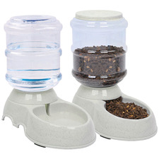 2 Piece Pawz 3 8L Automatic Pet Water & Food Feeder Set