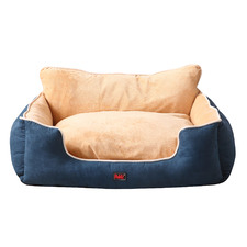 Tucker Pawz Pet Bed with High Back