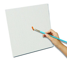 White Blank Stretched Canvas (Set of 5)