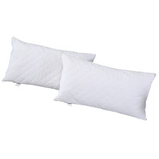 DreamZ Quilted Cotton Pillow Protectors (Set of 2)