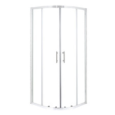Clear Curved Shower Door