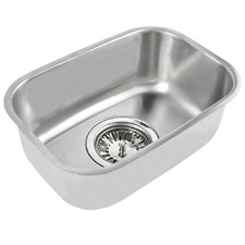 Silver Stainless Steel Sink Bowl
