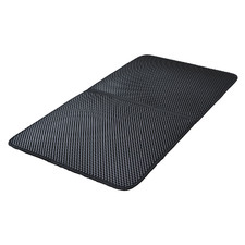 Black Double Layer Cat Litter Pad