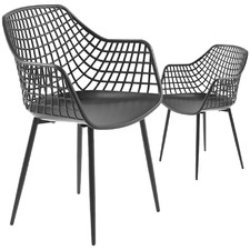 Valerie Outdoor Dining Chairs (Set of 2)