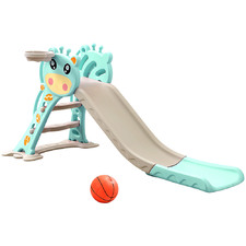Kids' Bopeep Slide & Basketball Hoop Set