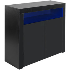Feliz High Gloss LED Sideboard