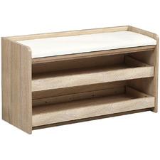 Damian Cushioned Shoe Storage Bench