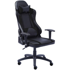 Fedelton Faux Leather Executive Gaming Chair