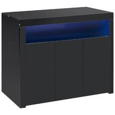 Lenna High Gloss LED Sideboard