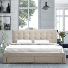 Edan Upholstered Bed Frame