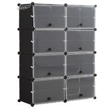 Levede 8 Compartment Shoe Cubby Rack