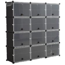 Levede 12 Compartment Shoe Cubby Rack