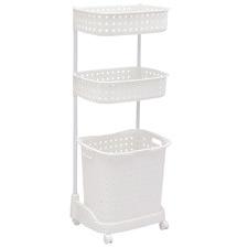 3 Tier Bathroom Laundry Clothes Basket