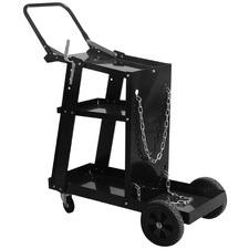Black Connor Metal Welder Cart