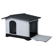 White & Grey Buddy Dog House