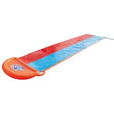 Double Slip & Slide Pool