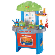 Kids' Kitchen Play Set with Light & Music