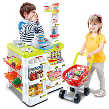 Kids' Supermarket Play Set