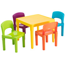 Kids' 4 Seater Table & Chair Set