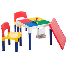 2 Seater Building Block Table & Chair Set