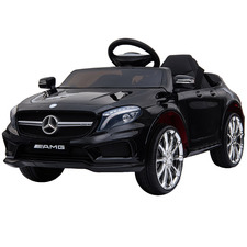 Black Licensed Mercedes Ride-On Car