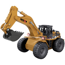 Remote Controlled 6 Channel Die-Cast Excavator
