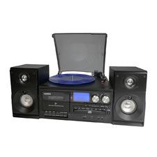 Large Black Home Entertainment System