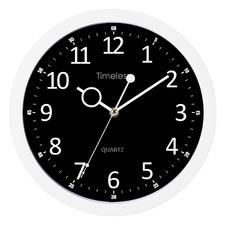 Monochrome Timeless Round Wall Clock