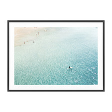 Clear Waters Framed Print