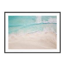 Aerial Beach Framed Print