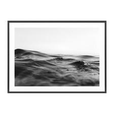 Dark Surface Framed Print