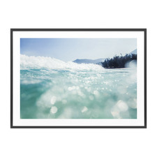 Ocean Luxe Framed Print
