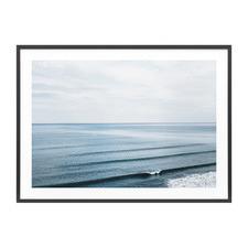 Rolling Sets Framed Print
