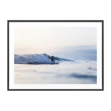 Evening Surf Framed Print