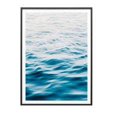 Ocean Surface Framed Print