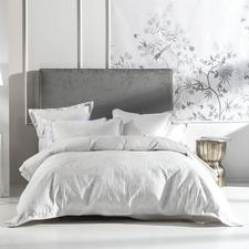 Silver Mandana Cotton-Blend Quilt Cover Set