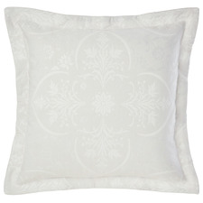 Silver Mandana Cotton-Blend European Pillowcase
