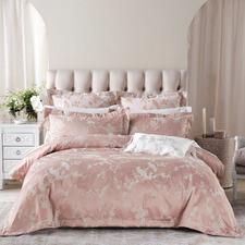 Pink Sonoya Cotton-Blend Quilt Cover Set