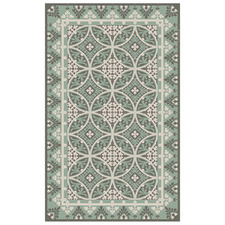 Barcelona Meadow Vinyl Floor Mat