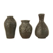 3 Piece Olive Vases Set