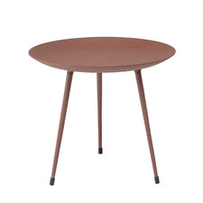 Brown Bjorg Metal Coffee Table