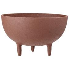 Brown Metal Decorative Bowl