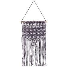 70cm Purple Cotton Wall Hanging