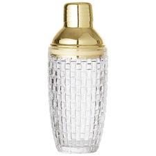 Metal & Glass Cocktail Shaker